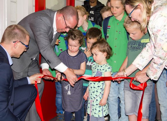 Succesvolle Opening Sportzaal