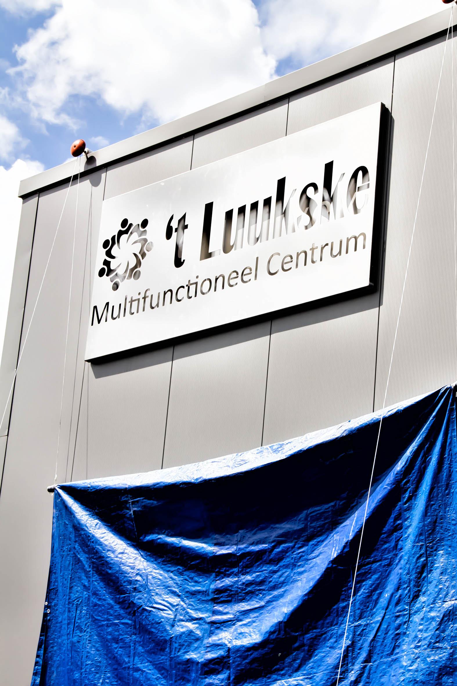Het nieuwe logo van MFC 't Luukske symboliseerd het samen werken en samen ondernemen