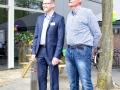 Sjaak van Zwieten en Maurice Bergmans